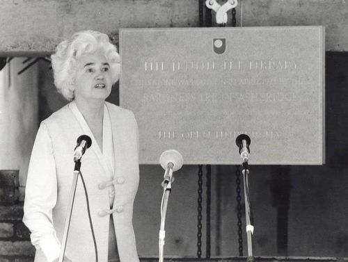 Jennie Lee Library foundation stone event