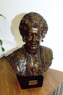 video preview image for Bronze bust of Betty Boothroyd