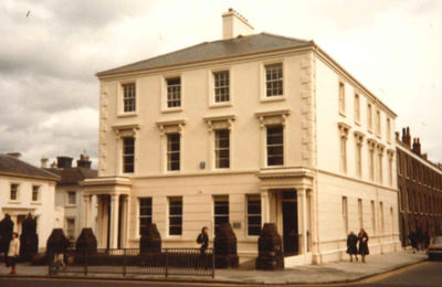 Photograph of The Open University Belfast Office in 1983